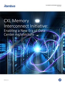 CXL Memory Interconnect Initiative: Enabling a New Era of Data Center Architecture